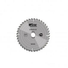 """Пильный диск по дереву """"WERK"""" 125 мм (40 зуб)"""