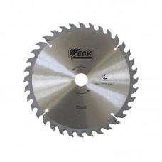 """Пильный диск по дереву """"WERK"""" 180 мм (32 зуб)"""