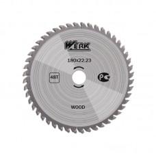 """Пильный диск по дереву """"WERK"""" 180 мм (48 зуб)"""