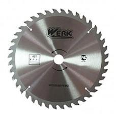 """Пильный диск по дереву """"WERK"""" 230 мм (40 зуб)"""