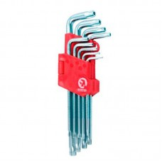 Набор ключей TORX с отверстием (9 шт)