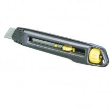 """Нож прорезной с отломным лезвием """"STANLEY"""" INTERLOCK (18 мм) 165 мм"""