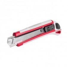 Нож прорезной с 3-мя отломными лезвиями INTERTOOL (18 мм) НТ-0508