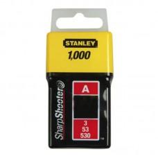"""Скобы для степлера Stanley тип """"А"""", 10мм, 1000 шт"""