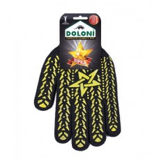 "Перчатка ""Долони"" Звезда черно/желт. рис. 11 размер"