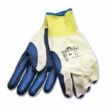 Перчатки рабочие (стекольщика)  с облитой ладонью