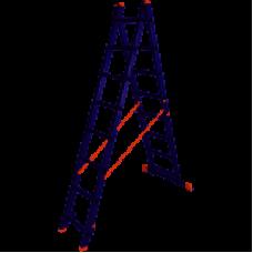 Лестница 2-х секционная Laddermaster Sirius A2A8 2*8 ступ.