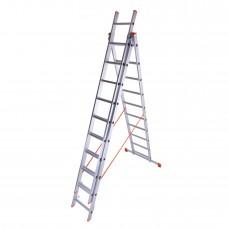 Лестница 3-х секционная Laddermaster Sirius A3A12 3*12 ступ.