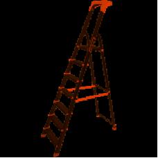 Стремянка алюм. Laddermaster Alcor A1A7 7 ст, выс. 203,5 см