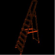 Стремянка алюм. Laddermaster Alcor A1A8 8 ст, выс. 225,5 см
