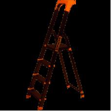 Стремянка алюм. Laddermaster Alcor A1AТ4 4 ст, выс. 143 см