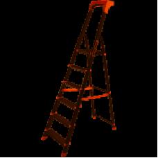 Стремянка алюм. Laddermaster Alcor A1AТ6 6 ст, выс. 186,5 см