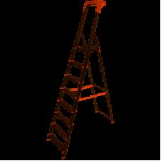 Стремянка алюм. Laddermaster Alcor A1AТ8 8 ст, выс. 230,5 см