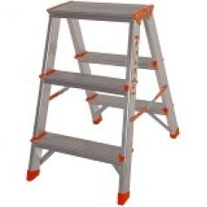 Стремянка алюм. Laddermaster Polaris A5A3 2*3 ст., выс. 59 см, 2,5кг