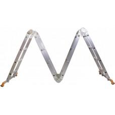 Шарнирная алюминиевая лестница 4х4 (MLA-44) Aloft