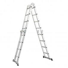 Лестница трансформер (шарнирная) WERK (4 х 4 ступ.)