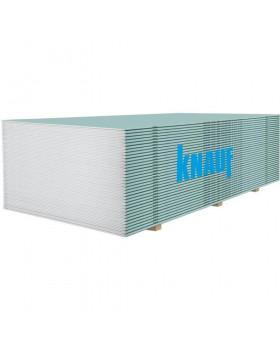 Гипсокартон влагостойкий KNAUF 1,2х2,5 м (9,5 мм)