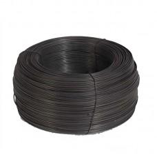 Проволока вязальная черная D0,8мм 0,5 кг