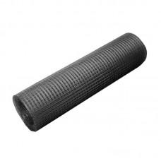 Сетка сварная черная 25х25х0,9 мм