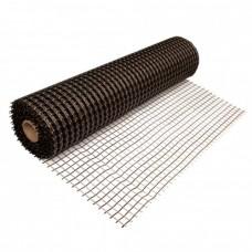 Базальтовая кладочная сетка с полимерной пропиткой 50x50 мм (50м²)
