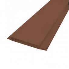 "Панель ПВХ ""Deco Life"" коричневая 6,0 х 0,10 м"