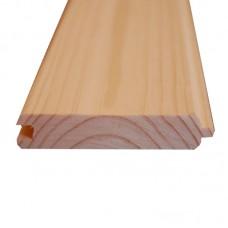 Вагонка деревянная сосновая 80 х 13 х 3м двухсторонняя