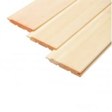 Вагонка деревянная сосновая евро (80 х 13 х 2000 мм)