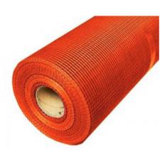 Сетка штукатурная щелочеустойчивая Fiberglass 5х5 мм (1х50 м) оранж.