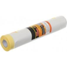 Пленка защитная с малярной лентой 1500(18) мм 20 м