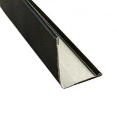 Угол пристенный для п/потолка 3 метра  19/24Teetanium Черный (20 шт./уп.)