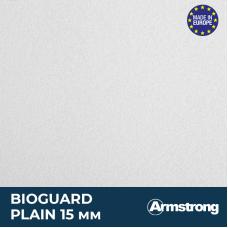 Плита Bioguard Plain Armstrong  600*600*15 (95% влагост) (16шт/уп)