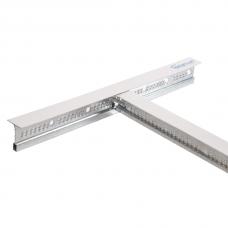 Профиль для п/потолка 0,6 м T 24/25 Teetanium  белый (60 шт./уп.)