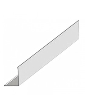 Угол пристенный для п/потолка 3,0 м Sistem White (60 шт/уп)