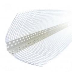 Уголок для фасадной штукатурки (ПВХ) 2,5 м сетка 7*7