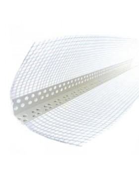Пластиковый уголок для фасадной штукатурки 3,0 м