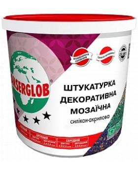 "Декоративная мозаичная штукатурка ""Anserglob""  25 кг"