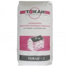 Шпаклевка фасадная цементно-полимерная Токан-2 (25 кг)