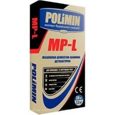 """Машинная цем-извест штукатурка """"MP-L"""", """"Polimin"""", 30 кг"""