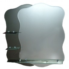 "Зеркало с полочкой ""Хаст"" М-4 (750 х 800 мм)"