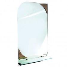 "Зеркало с полочкой ""Хаст"" Лепесток (400 х 690 мм)"