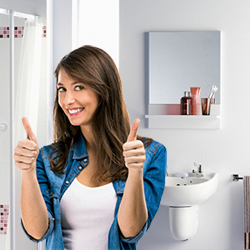 Новинка в «Атлант» - современная мебель для ванной от компании «Sanwerk»