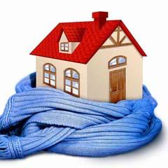 Утепление дома изнутри. Как сохранить тепло.